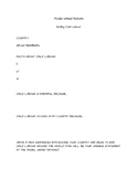 Model United Nations- ending child labour planning sheet