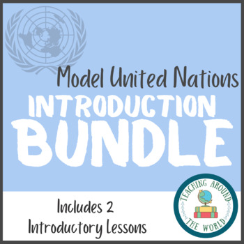 Model United Nations  BUNDLE
