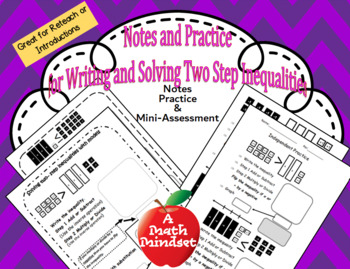 Model and Solve 2 step inequalities with algebra tiles TEK
