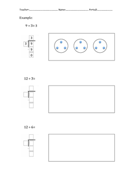 Model and Solve Division Practice