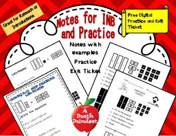 Model and Solve two step equations with algebra tiles TEKS 7.11A, 7.11B, 7.10B