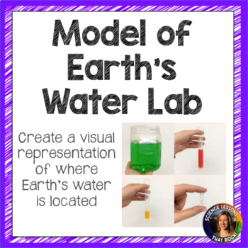 Model of Earth's Water To Scale Lab