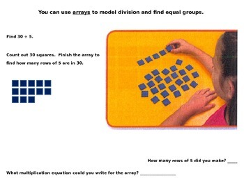 Model with Arrays - Division