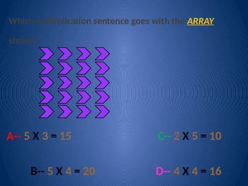 Model with arrays