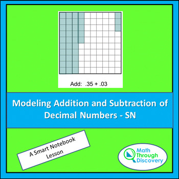 Modeling Addition and Subtraction of Decimal Numbers