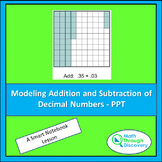 Modeling Addition and Subtraction of Decimal Numbers - PPT