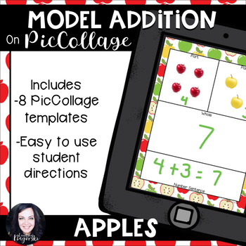 Modeling Addition with Pic Collage (Apples)