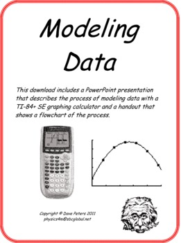 Modeling Data with a TI-84+ SE Graphing Calculator