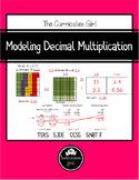 Modeling Decimal Multiplication Unit (5.3D, 5.NBT.7)