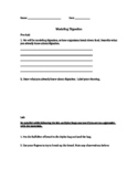 Modeling Digestion Activity for Middle School Students