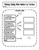 Modeling Division of Whole Numbers and Fractions Interactive Notes