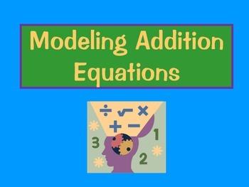 "Modeling ""Edible"" Math Equations"