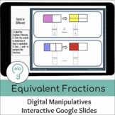 Modeling Equivalent Fractions | Interactive Digital Visual Models