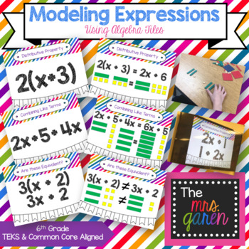 Modeling Expressions Using Algebra Tiles