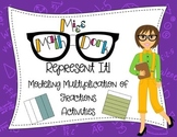 Modeling Fraction Multiplication using Area - A progressio