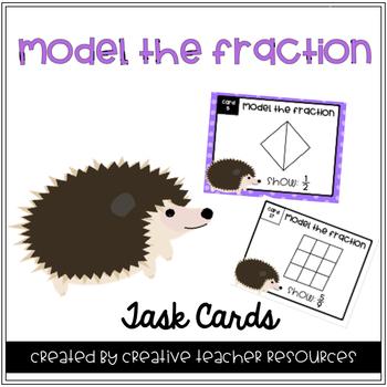Modeling Fraction Task Cards
