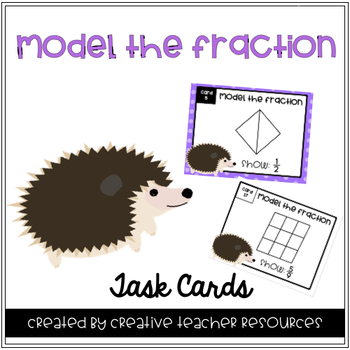 Modeling Fraction Task Cards