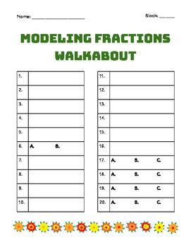 Modeling Fractions, Decimals, and Percents