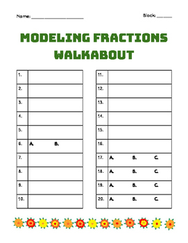 Modeling Fractions, Decimals, and Percents