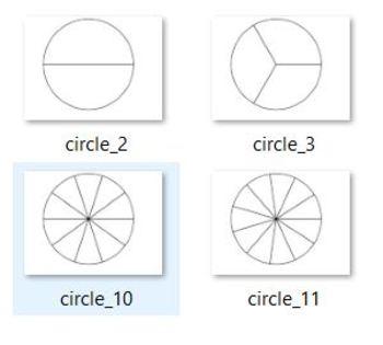 Modeling Fractions, Decimals, and Percents Manipulative/Clipart