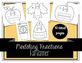 Modeling Fractions Fall Banner