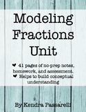 Modeling Fractions Unit