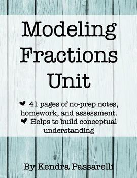 Modeling Fractions Unit
