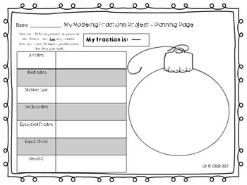Modeling Fractions - Winter Project