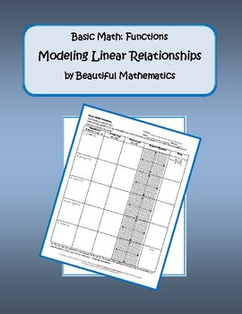 Modeling Linear Relationships