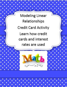 Modeling Linear Relationships Credit Card Activity