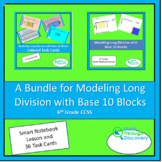 A Bundle for Modeling Long Division with Base 10 Blocks