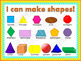 2D and 3D Shapes Building Activities and Math Centers