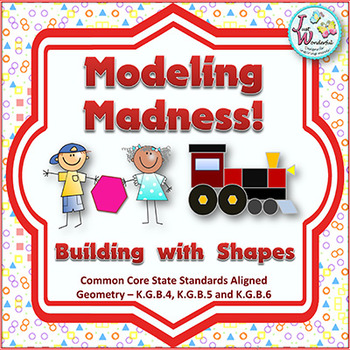 Shapes - Math Centers / Stations Activities