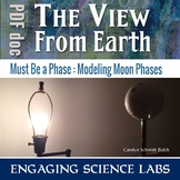 Moon Phases Activity: An Interactive Model; including Sola
