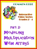 Modeling Multiplication Problems with Arrays (Common Core Standards)