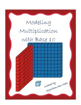 Modeling Multiplication by The Math Fanatic