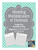 Modeling Multiplication of Decimals