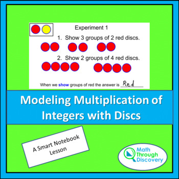 Middle School:  Modeling Multiplication of Integers with Discs