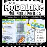 Modeling Multiplying Decimals: Base Ten Blocks