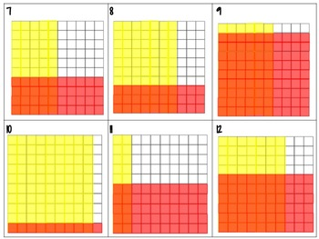Modeling Multiplying Decimals on Hundredths Grids Pack