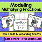 Modeling Multiplying Fractions Task Cards