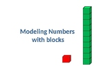 Modeling Numbers with blocks