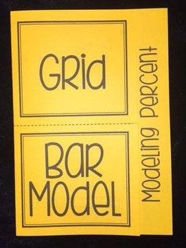 Modeling Percent (Foldable)
