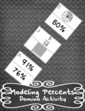 Modeling Percents Domino Activity