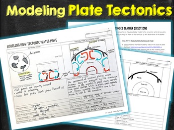 Modeling Plate Tectonic Movements
