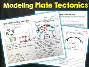 Modeling Plate Tectonic Movements