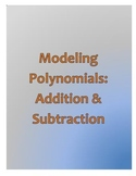 Modeling Polynomials: Addition & Subtraction