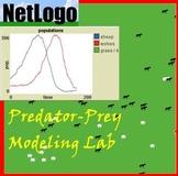Modeling Predatory-Prey Relationships with NetLogo