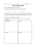 Modeling & Representing Decimals Study Guide