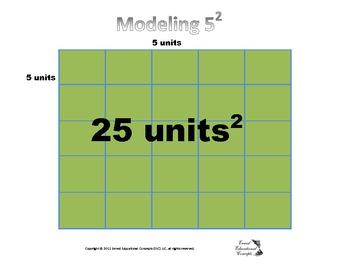 Modeling Squares Sign